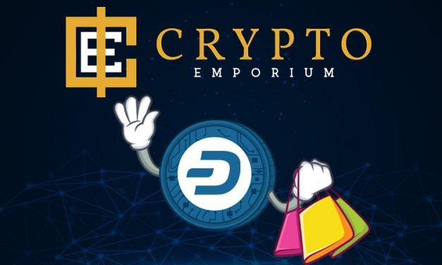 Loja Exclusiva para Criptomoedas Crypto Emporium Adiciona Dash