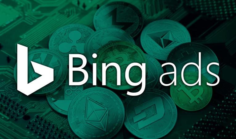 Bing blockierte im Jahr 2018 über 5 Millionen Kryptowährungsanzeigen