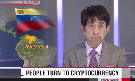 NHK News из Японии рассказывают о Венесуэле и Dash