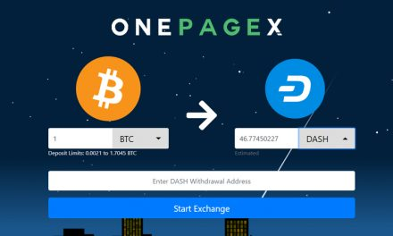 OnePageX.com Integrates Dash, Expands Exchange Options