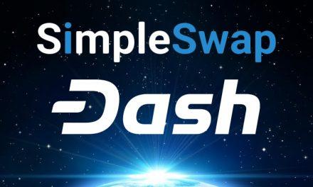 SimpleSwap se Integra com a Dash e Aumenta Utilidade para Consumidores