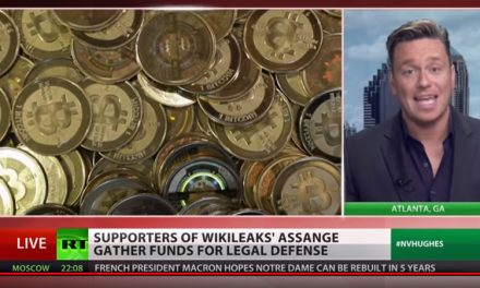 RT News berichtet über die Unterstützung, welche WikiLeaks durch Dash und anderen Kryptowährungen erfährt