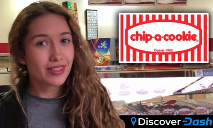 Isabel Buys Cookies & Brownies with Dash at Chip-a-Cookie in Caracas, Venezuela