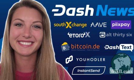 Dash News Recap – Alt36 Cannabis, YouHodler, Bitcoin.de, eToroX, Wikileaks, Litecoin vs Dash & More!