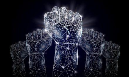 Der technologische Scheitelpunkt zwischen Dystopia und Utopia