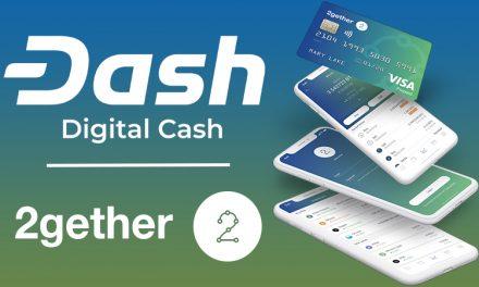 La plateforme bancaire collaborative 2gether ajoute Dash