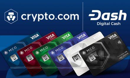 Crypto.com intègre Dash : Carte de débit et cadeau promotionnel
