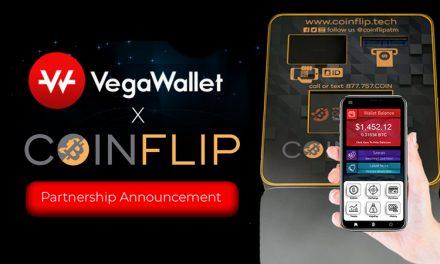 VegaWallet und CoinFlip kooperieren, um Dash in den Alltag zu bringen