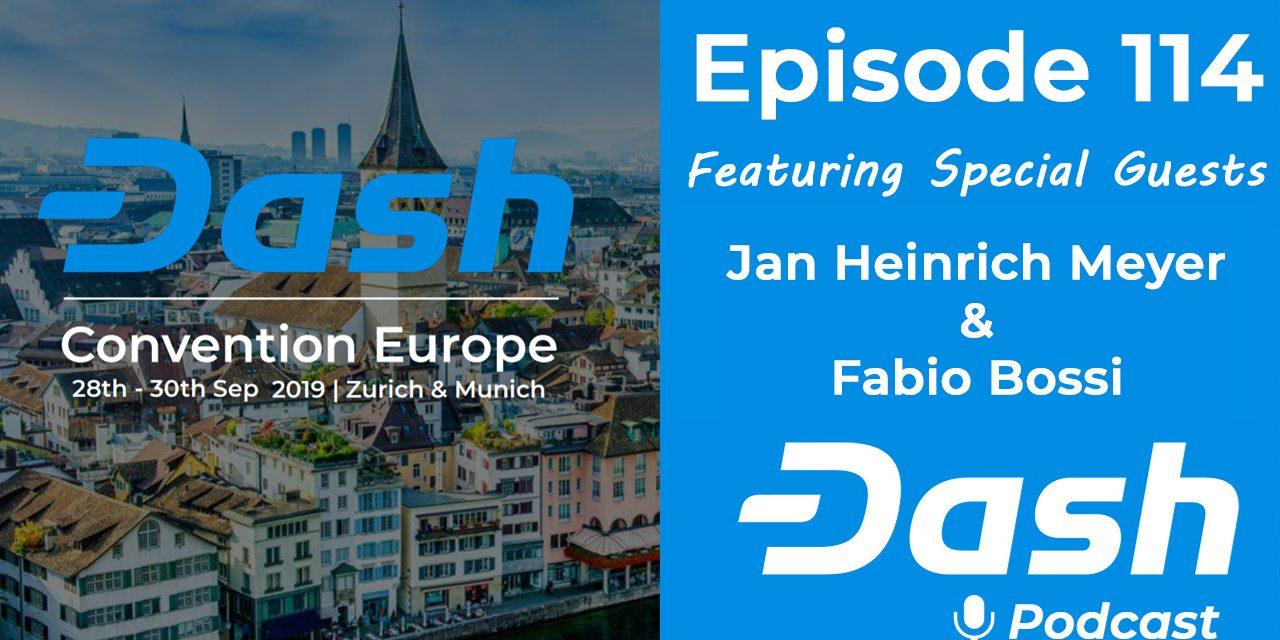 Dash Podcast 114 – Jan & Fabio kündigen die Dash Convention Europe und das Dashtoberfest an!