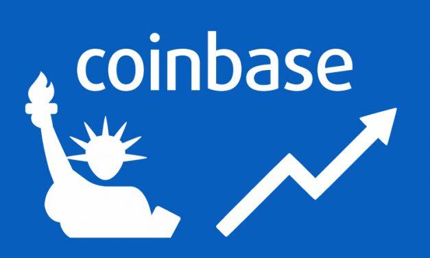 Coinbase Bericht zeigt, dass das Interesse an Kryptowährungen weiterhin wächst