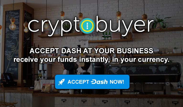 Cryptobuyer CEO Plans Zero-Fee Merchant Solutions for Mass Dash Adoption