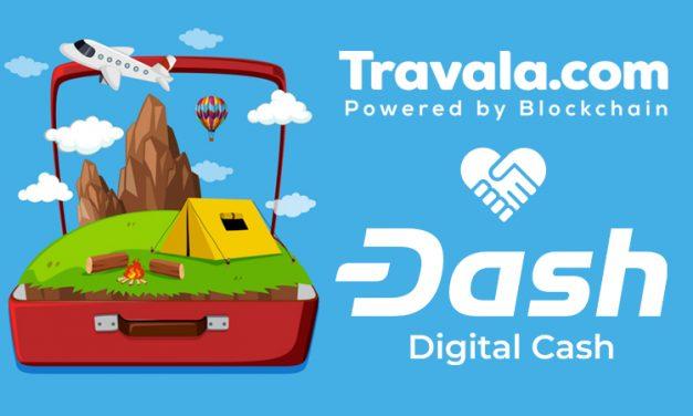 Agora o Travala é Parceiro Oficial de Viagens do Dash Core Group e Oferece 5% de Dash-Back