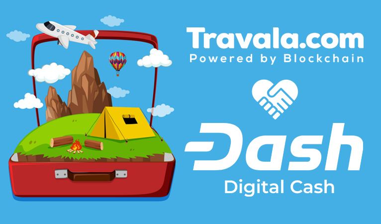 Travala Now Official Travel Partner of Dash Core Group, Offer 5% Dash-Back