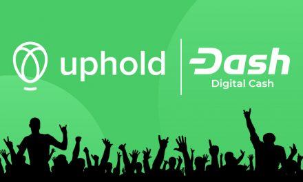 Платформа Uphold отменяет комиссию за вывод средств в Dash