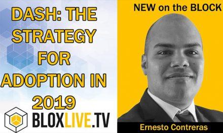 Ernesto Contreras erläutert seine Strategie zum Erreichen der Massenakzeptanz von Dash