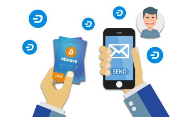 Dash-Gutscheinkarten von Bitnovo nun bei 2.000+ Geschäften in Portugal erhältlich