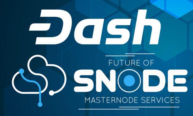 Snode Integrates Dash Adding Masternode Hosting, Shared Masternodes