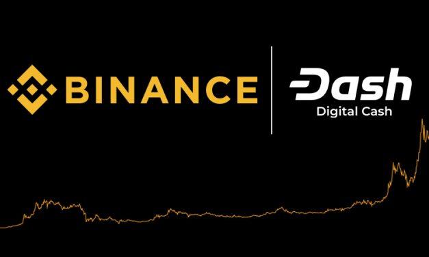 Binance annonce un nouveau service de prêt Dash et des options de trading à la marge