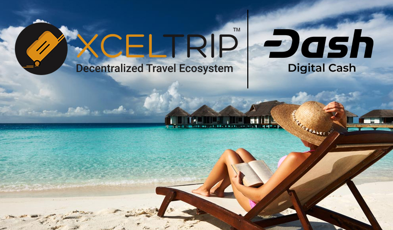 Cryptocurrency Travel Booking Service XcelTrip Integrates Dash