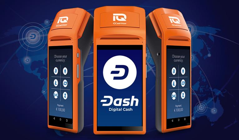 Dash arbeitet mit IQ CashNow zusammen, um 1000+ neue Akzeptanzstellen zu gewinnen