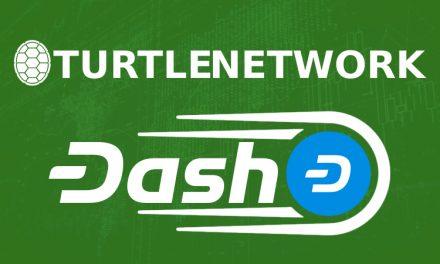 Dash zur dezentralen Börse TurtleNetwork DEX hinzugefügt