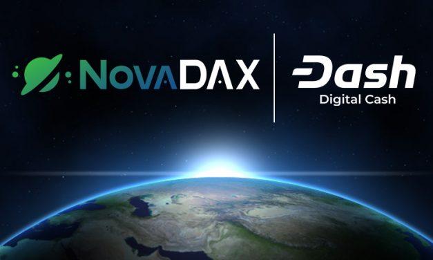 NovaDAX Brazilian Cryptocurrency Exchange Integrates Dash