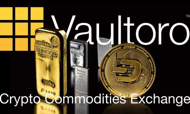 Vaultoro intègre Dash et relance sa plateforme de trading or/cryptomonnaie