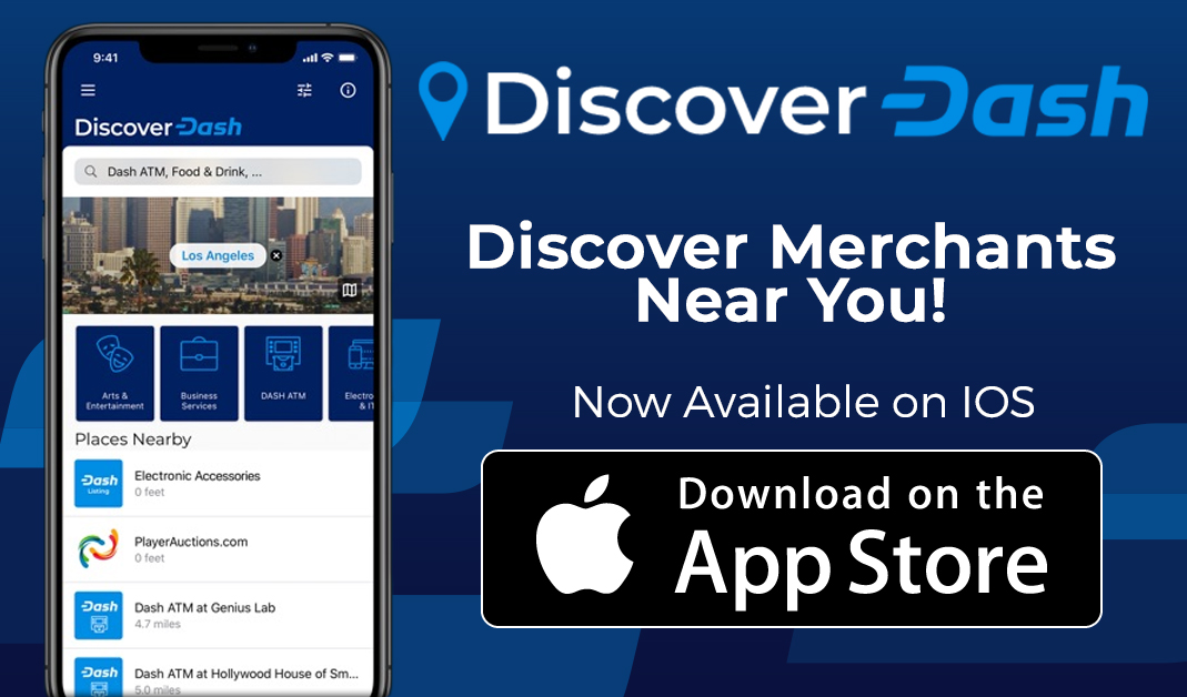 Discover Dash Merchant Directory iOS App Released Including Critical Review Feature