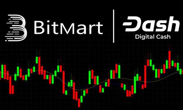 Die asiatische Kryptobörse BitMart integriert Dash und InstantSend