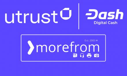 IT Retailer MoreFrom Adds Dash Payments Through Utrust Partnership