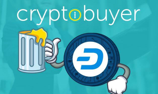 Le PDG de Cryptobuyer déclare que Dash était la meilleure pièce sur la plateforme durant trois mois consécutifs