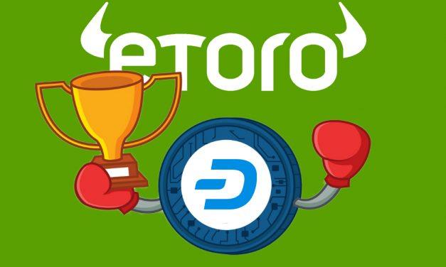 eToro und The TIE schaffen ein Krypto-Portfolio auf Grundlage von Social Media Interaktionen, wobei Dash diesen Monat eine große Rolle spielt