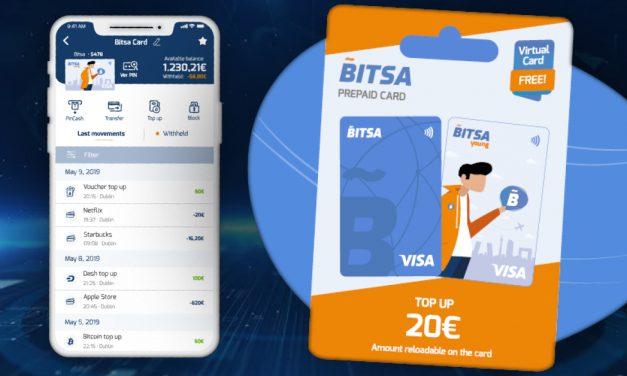 Bitsa bringt aufladbare Dash-Debitkarte für Jugendliche heraus