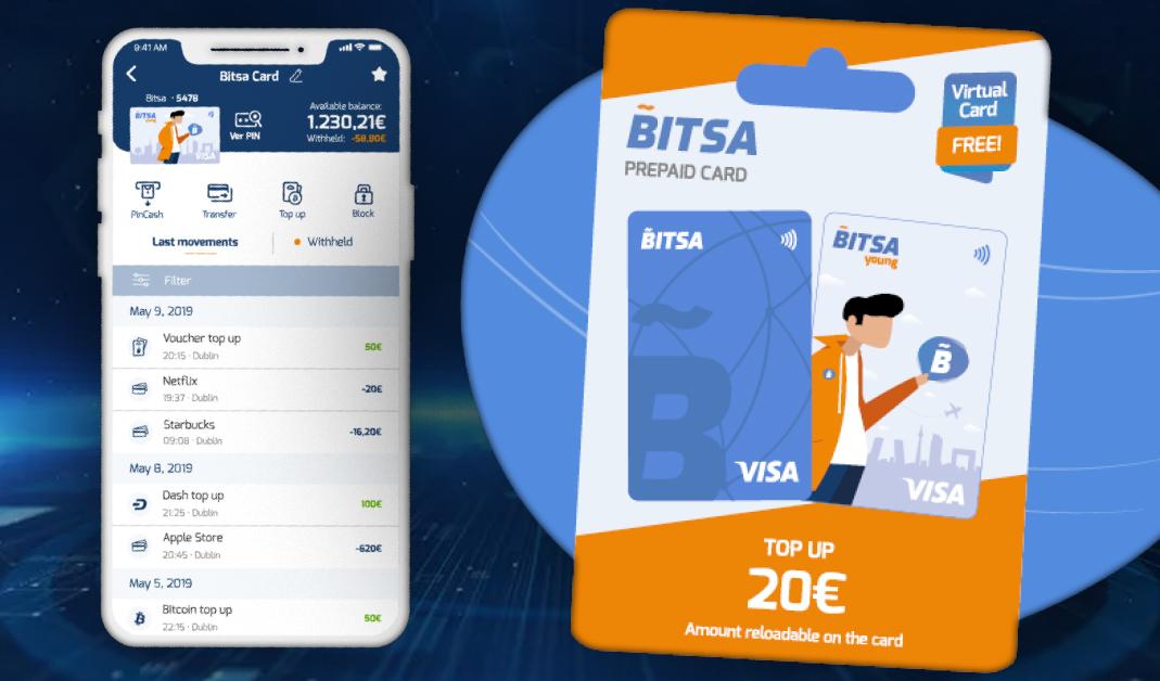 Bitsa Debuts Bitsa Young Dash Debit Card for Teenagers