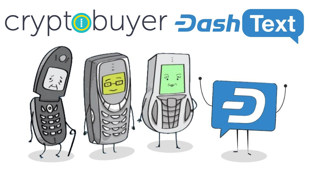 Cryptobuyer Partners with Dash Text for SMS Cryptocurrency Purchases