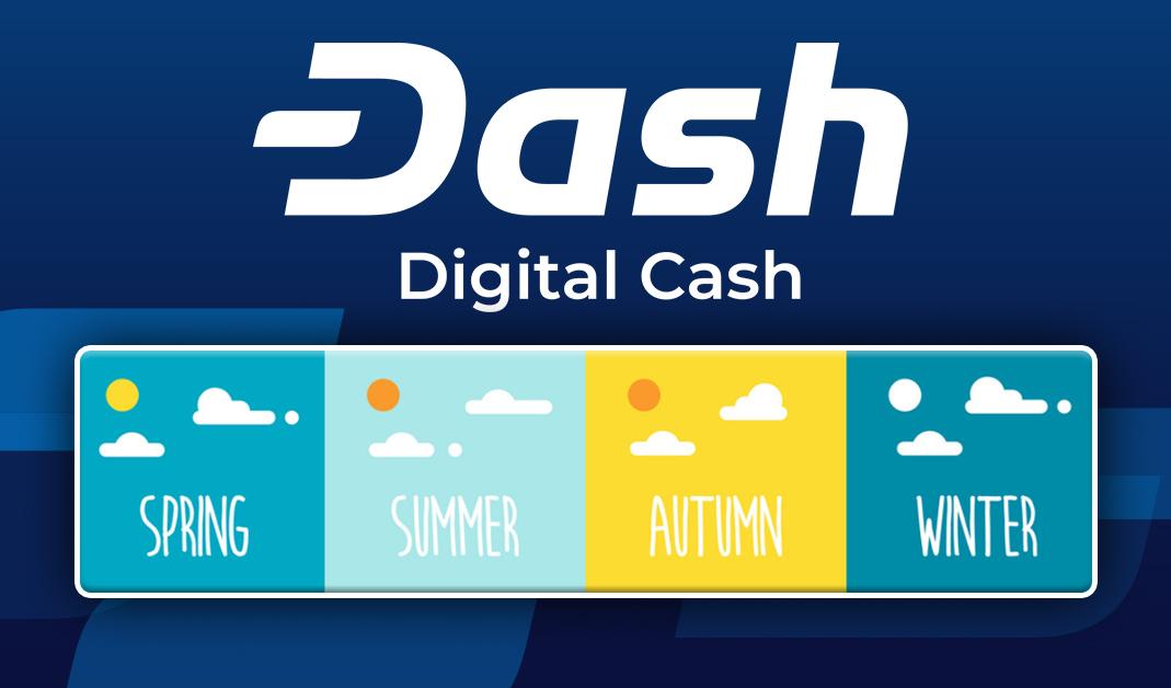 Dados de Sazonalidade do Dash Mostram Inverno e Primavera como Estações de Maior Performance