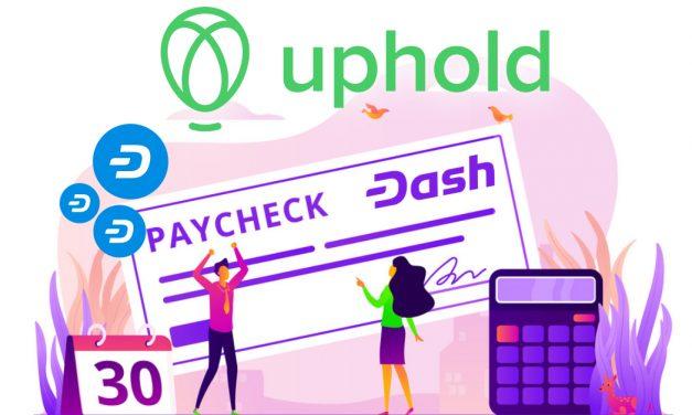 Uphold und Cornerstone ermöglichen Gehaltsauszahlungen in Dash