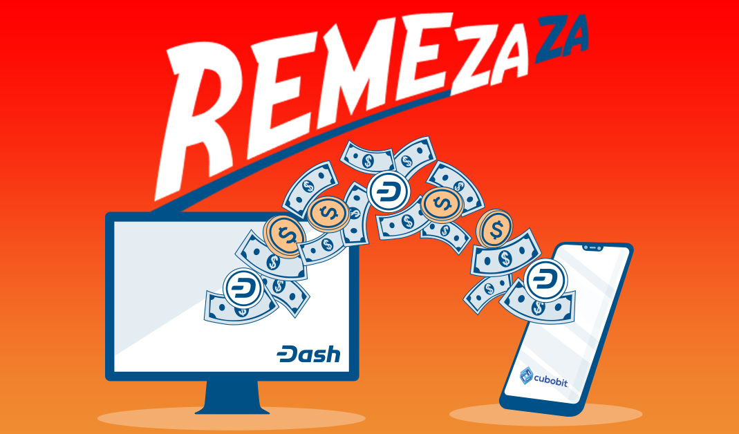 Cubobit Launches RemeZaZa Dash-Powered Remittance Platform for Mexico