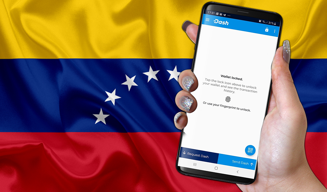 Active Dash Wallets Are Up 410% Annually in Venezuela Indicating Rapid Adoption
