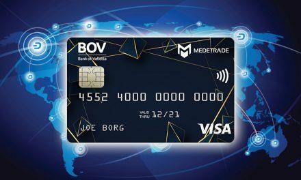 Cartão de Débito e Crédito MedeTrade Integra o Dash