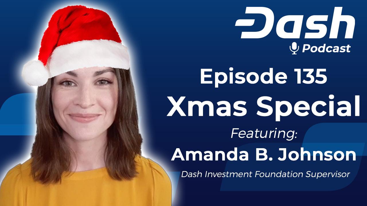 Dash Podcast 135 - Christmas Special with Amanda B. Johnson