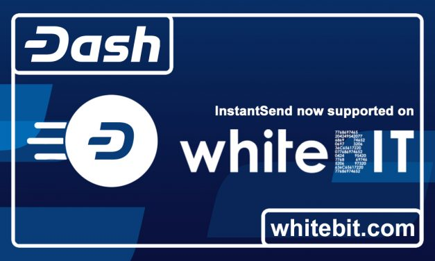 WhiteBIT Adds Support for Dash ChainLocks and InstantSend, Offers Zero-Fee Trading
